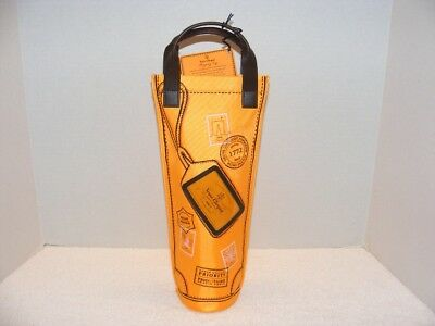 Veuve Clicquot Brut Champagne 750 Ml Orange Carrier Bag Guc