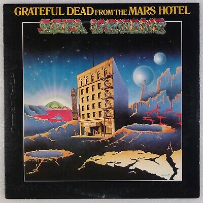 """GRATEFUL DEAD: From the Mars Hotel US Orig GD Records """"Authentic"""" Vinyl LP Hear"""