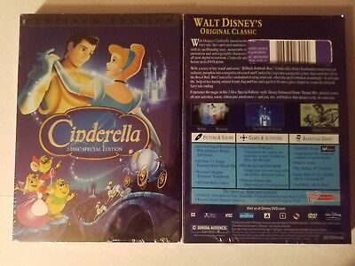 """Cinderella (Two-Disc Special Edition) DVD """"A Beautiful Story"""" Free Shipping"""