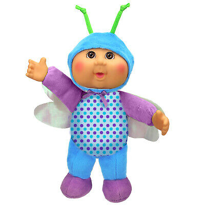 "Cabbage Patch Kids Bluebell Dragonfly 9"" Baby Doll- Garden Party Cuties"
