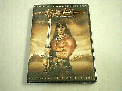 New! CONAN: The Complete Quest (Barbarian, Destroyer) [DVD, 2004, 2 Movie Films]