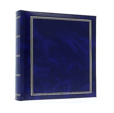 "Large Black Slip In Photo Album Holds 300 6"" x 4"" Photos Memo Paris France Gift"