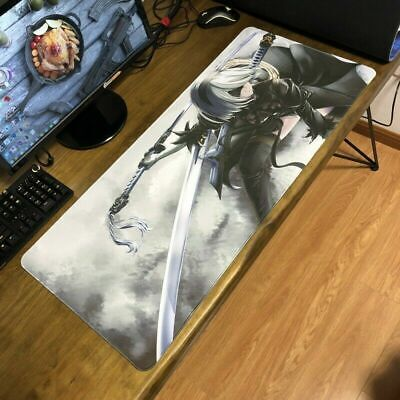NieR Automata YoRHa Type B 2B Large Anime Mousepad Mouse Pad Keyboard Mat