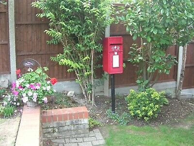 Royal Mail Post Office GPO Complete Metal Post Box support stand for ER & GRV1.