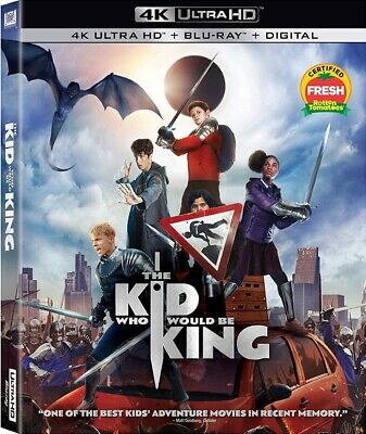 The Kid Who Would Be King NEW 4K UHD + Blu-ray + Digital  PRE ORDER for 4/16/19!