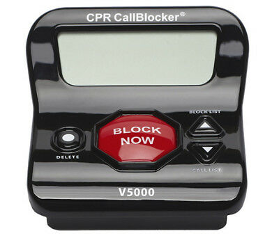 CPR V5000 America's #1 Call Blocker  Pre-loaded with 5000 known Robocall Scams #