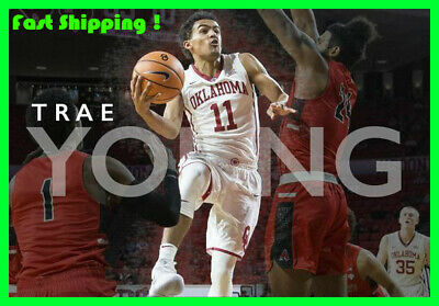 "Trae Young Poster Oklahoma Sooners 19"" x 13"" High Definition Quality Image Thick"