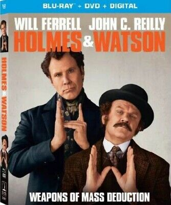Holmes and Watson NEW BLU-RAY + DVD + DIGITAL CODE PRE ORDER for 4/09/19!