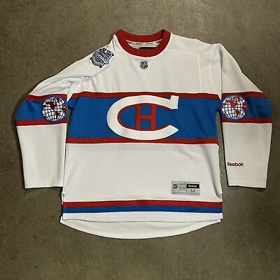 376b5dcdb67 Montreal Canadiens NHL Reebok Authentic Jersey 2016 Winter Classic Patch  Size M