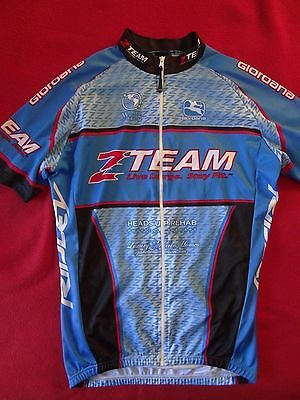 0ad51ec7e Giordana Short Sleeve Men s Team Cycling Full Zip Jersey - M