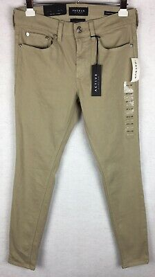 984e6f6224614 NWT Pacsun Mens Stacked Skinny Active Stretch Jeans Khaki Size 29x30 (Fit  30x30)