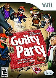 Disney Guilty Party Nintendo Wii NEW Factory Sealed