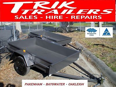 6x4 light duty box trailer (made to order)