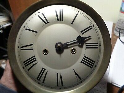 Antique-Gustav Becker-2 Weight-Vienna Regulator Clock Movt/Parts-Ca.1920-#T120
