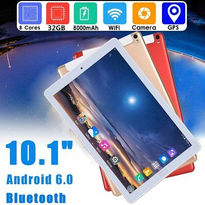 """10.1"""" INCH TABLET PC Octa Core ANDROID 6.0 32GB  WIFI DUAL SIM  IPS SCREEN GPSKP"""