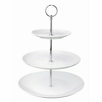 Olympia 3 Tier Afternoon Tea Cake Stand For Wedding And Party 152X229X70mm