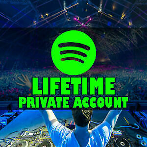 Spotify Premium Account - Lifetime warranty Worldwide