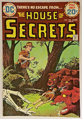 House of Secrets # 120 VF 8.0 Condition 1974 DC Comics Bronze Age High Grade
