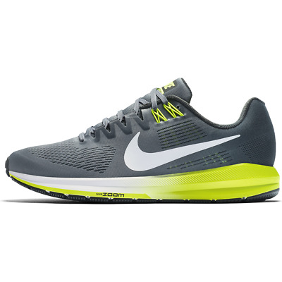 new product 1afaa d04c2 Nike Air Zoom Structure 21 WIDE 4E Mens Sz 10 Running Shoes Gray Volt MSRP