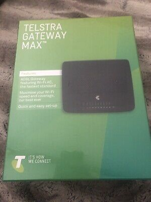 TELSTRA GATEWAY MAX TG799 Router Modem 2 4GHz 5GHz Wi-Fi ADSL ADSL2+