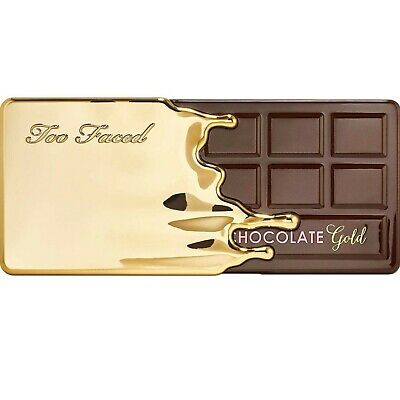 Too Faced -- Chocolate Gold Metallic/Matte Eyeshadow Palette Nib.free shipping*