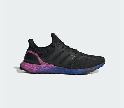 7d9871d4da5 ADIDAS ULTRABOOST 4.0 Black Multi-Color White Mens Running Shoes ...