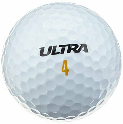 Wilson Mens Ultra Ultimate Distance Golf Ball Pack of 24
