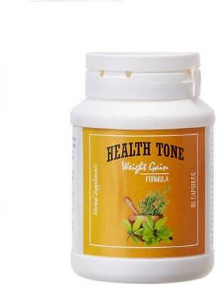 HEALTH TONE HERBAL Weight Gain Capsules 100gm free shipping