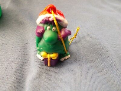 Yowie Christmas Characters 1995 Grumkin Creatures Ditty With Original Package