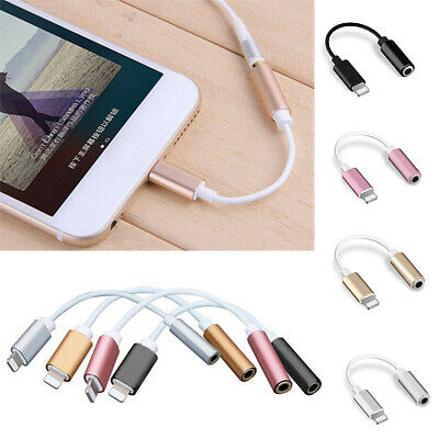 Headphone Lightning Adapter Cable 3.5mm for Apple iPhone 7 / 7 Plus
