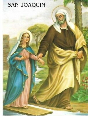 Vintage Postcard: San Joaquin / St Joachim Father Of The Blessed Virgin Mary