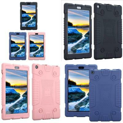 """Shockproof Soft Silicone Case Cover For 7"""" Amazon Kindle Fire 7 HD 8 2017 Tablet"""