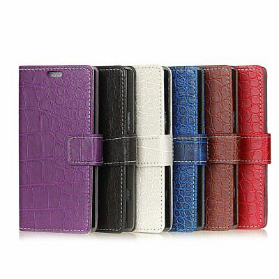 Classic Leather Wallet Cover Case For Xiaomi 6X A2 MIX 2S OPPO R9 R11 R15 R17