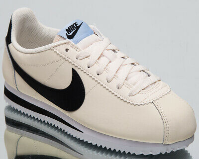 get cheap 70a32 019a3 Nike Classic Cortez Leather Women s New Pale Ivory Casual Sneakers  807471-111