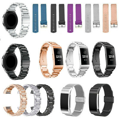 UK Replacement Watch Wrist Strap Band for Fitbit Charge 2 3 Blaze Alta HR Galaxy