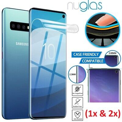 Genuine NUGLAS Samsung Galaxy S10 S10 Plus S10e PET Film Full Screen Protector