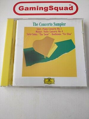 The Concerto Sampler, Various CD, Supplied by Gaming Squad
