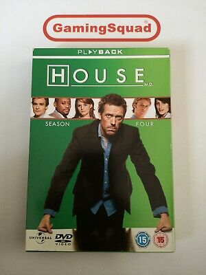 House Season 4 DVD, Supplied by Gaming Squad