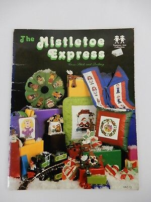The Mistletoe Express Cross Stitch and Quilting Vanessa-Ann Collection Christmas