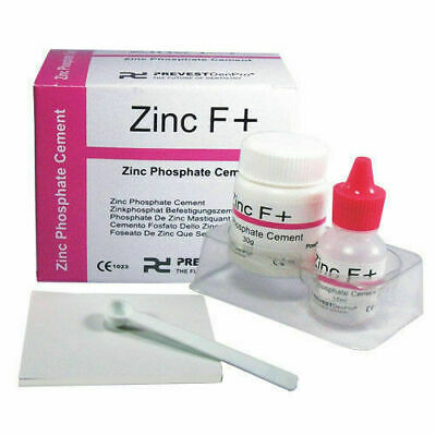 Permanent Tooth Filling Dental Cement Kit Zinc Polycarboxylate Cement Zinc F+
