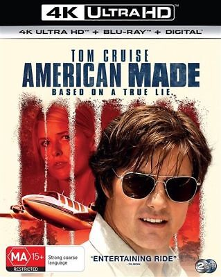 American Made 4K Ultra HD : NEW UHD Blu-Ray