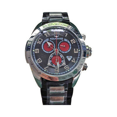 All Stainless Steel Aqua Swiss Watch Unisex water resistant New Swiss Made link