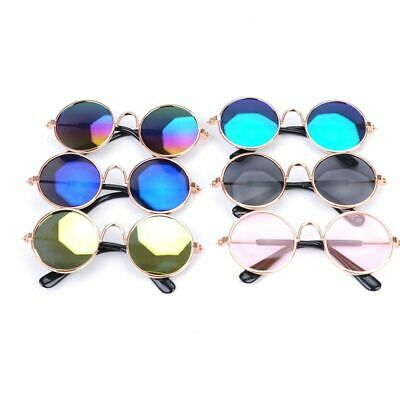 Pet Sunglasses For Dogs Cat Metal Eye-wear Protection Accessories Fashion Props