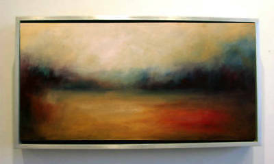 Modern Abstract Art Home Decor Wall HandPainted Landscape Oil Painting Canvas