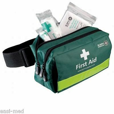 St John Ambulance Green First Response First Aid Bum Bag *EMPTY*
