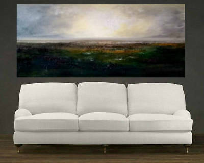 Huge Modern Art Abstract Home Decor HandPainted Scenery Oil Painting On Canvas