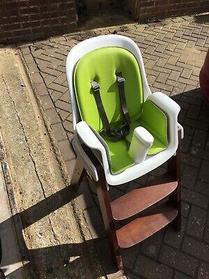 75d55c888af6b OXO TOT SPROUT Highchair (Green Walnut) - Used - £5.00