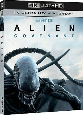 |044657| Alien: Covenant (4K Ultra Hd+Blu-Ray) - Alien: Covenant (Blu-Ray Éditio