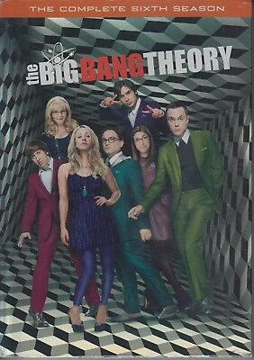 The Big Bang Theory: The Complete Sixth Season (2013, 3-DVD Set) comedy tv NEW