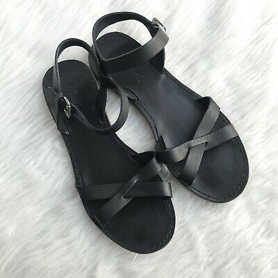 64f97060704 MADEWELL WOMEN S THE Boardwalk Crisscross Sandals Black Size 7.5 ...